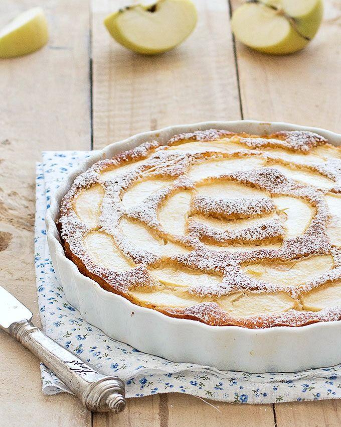 Apple spice tea cake recipe