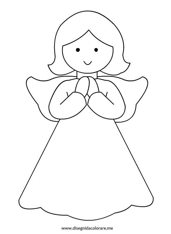 17 migliori immagini su angeli su pinterest blue angels for Disegni di angeli da colorare per bambini