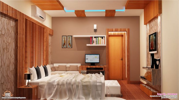Interior designs kerala houses smart house ideas smart for Normal bedroom designs