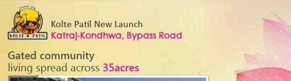 Kolte Patil New Launch Kondhwa, Pune - New Housing Project