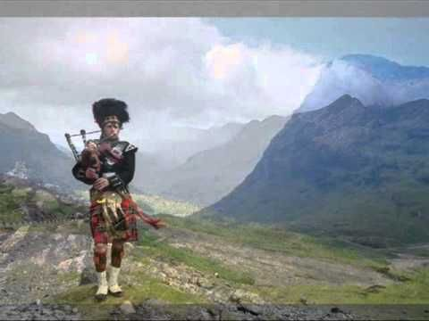 ♫ Scottish Bagpipes - Will Ye No Come Back Again ♫ - YouTube