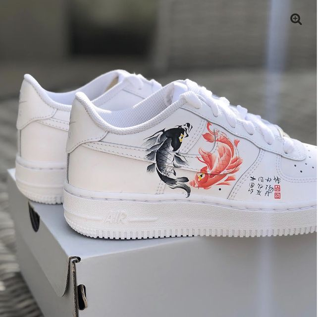 Koi Fish AF1 | THE CUSTOM MOVEMENT in