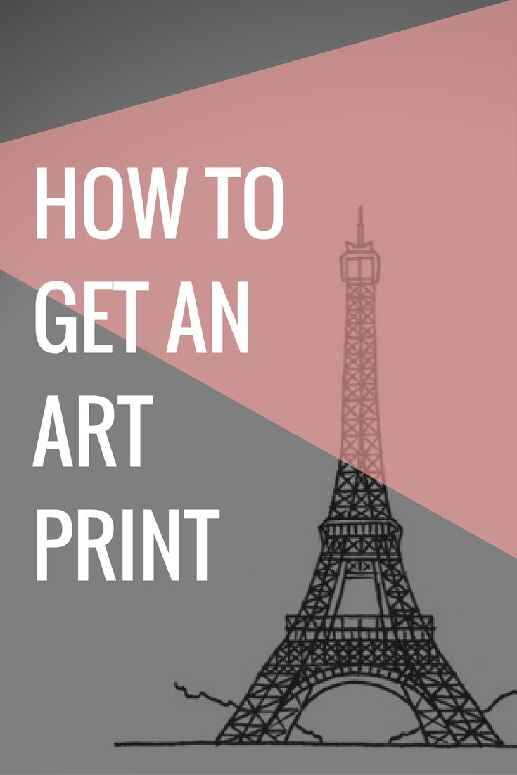 Are you about to get an art print? This minimalist print of the Eiffel Tower in Paris looks great in any frames. #art #paris #eiffeltower #poster