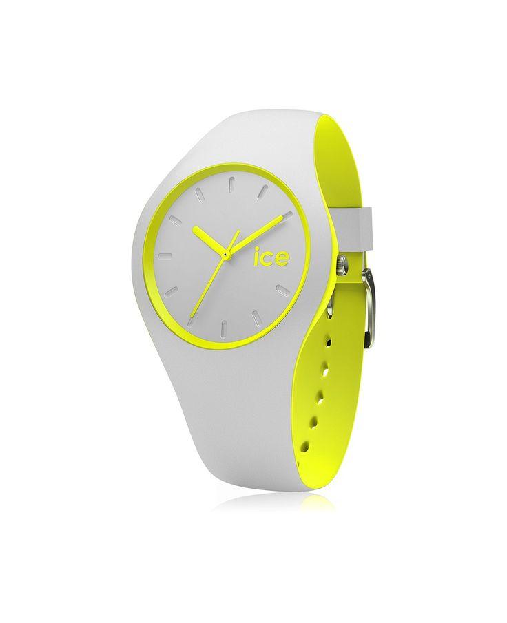 Ice Watch ICE дуэт - серый цвет желтый - Unisex DUO.GYW.US16 Часы | uhr24