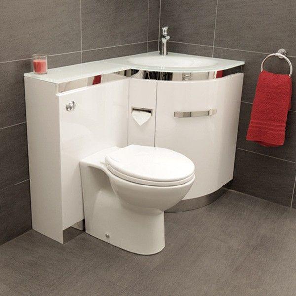 �499.95 Vigo Right Hand Corner Combination Unit with White Basin