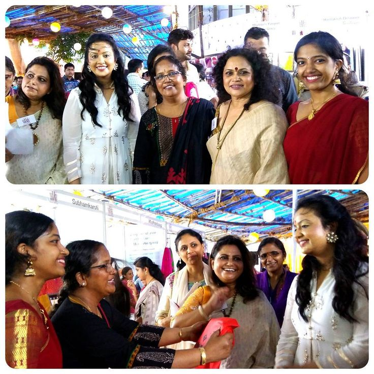 Inauguration of Pitara with Mrs Amruta Fadnavis (wife of CM of Maharashtra Devendra Fadnavis) as Chief Guest. Sri Padmavathi Silks is at Pitara, Gadkari Rangayatan, Thane on 26-27-28 August 2016. Visit us! Ph 91 9821054556