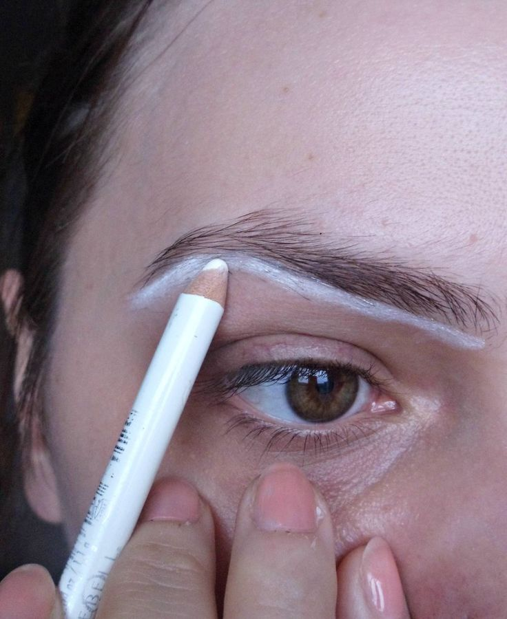 how to shape brows.