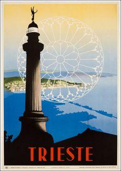 ITALY - Trieste 1952 #Vintage #Travel