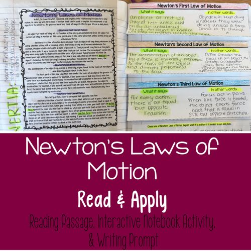 Physics/Newton's Three Laws Of Motion term paper 11874