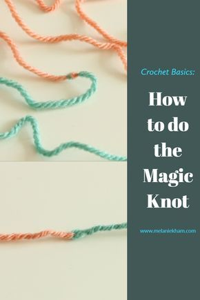 Learn how to join yarn for knitting or crochet projects with this crochet basic technique