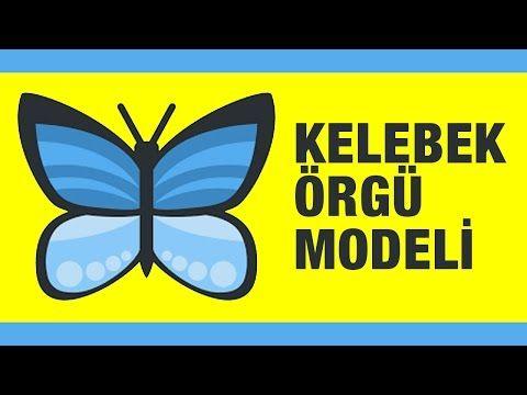 Kelebek Boğumları Örgü Modeli - Örgü Örnekleri - YouTube