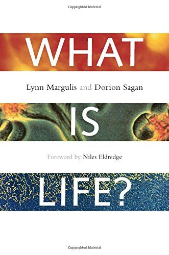 What is Life?: The Eternal Enigma by Lynn Margulis https://www.amazon.co.uk/dp/0520220218/ref=cm_sw_r_pi_dp_x_kaWqyb3NSD1HX