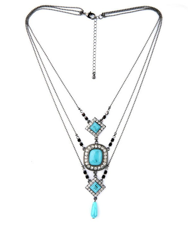 Summer : Khorasan Multilayer Necklace