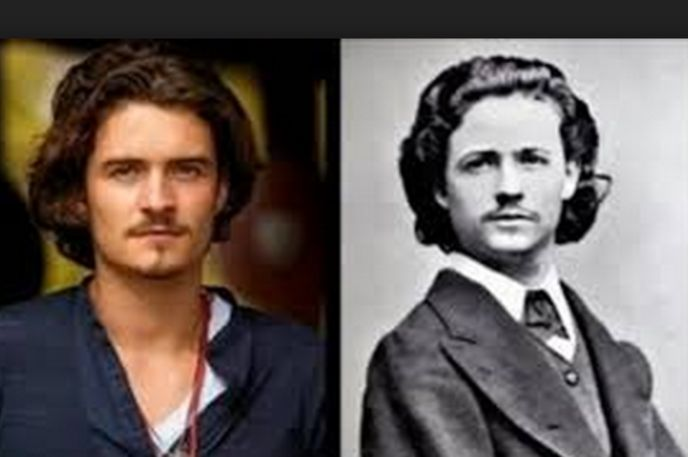 Orlando Bloom and Romanian painter Nicolae Grigorescu..Celebrity Lookalikes From The Past - Answers.com
