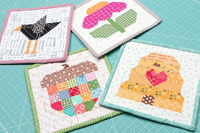 YaY!!! Four new Farm Girl Vintage patterns by Lori Holt