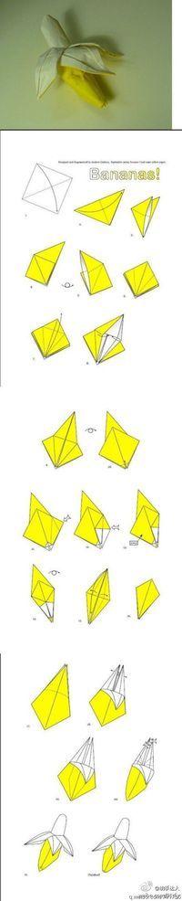Banana origami. Contra el racismo