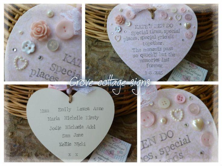 Completed order #handmade #grovecottage #hernebay #wedding #hendo #personalised #woodengifts #heart