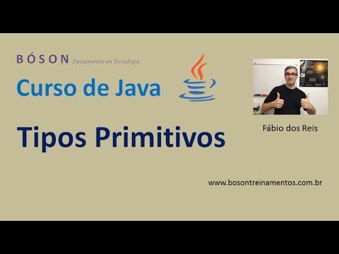 Tutorial de Java - Tipos Primitivos