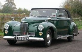 1949 Humber Super Snipe Mk II Drophead Coupe by Tickford  Make: Humber Model: Super Snipe Mk II Drophead Coupe by Tickford Year: 1949 Registration Number: LTB 948 Chassis Number: 8801508 HXO Transmission: Manual Steering: Right Hand Drive MOT Test Expiry: Exempt Sold For: £29700 Road Tax Exempt