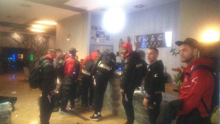 Piłkarze Cracovii na dzień przed wygranym 3:0 meczem z Gónikiem Zabrze