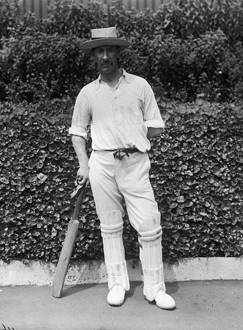 Albert Trott- The last man to hit the ball over the Lord's pavilion.
