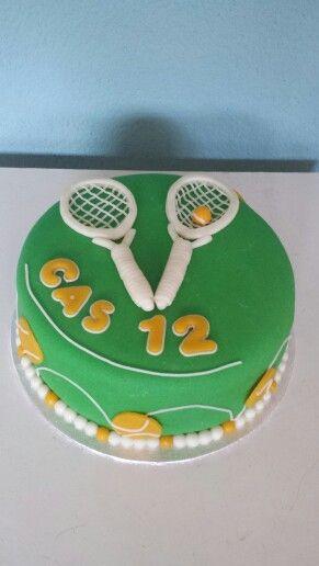 Tennis taart 12 personen