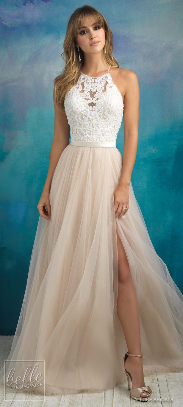 Bridal trends halter wedding dresses noivas pinterest