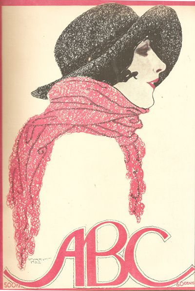 Stuart Carvalhais, ABC magazine, 1922 - cover