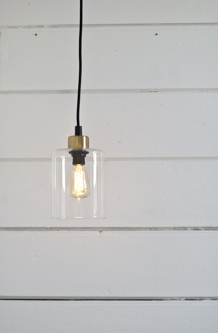 Hanging lamp brass/glass #lagerhaus #2014