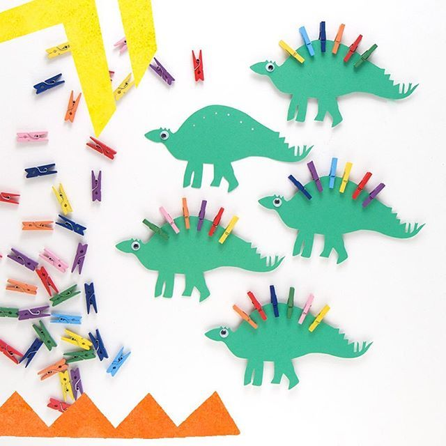 The great dinosaur spike hunt... A little treasure hunt game, designed for a party bag. www.cottontwist.co.uk