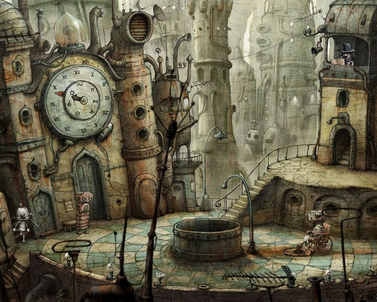 Image detail for -Flash Game: Machinarium - The Steampunk Empire