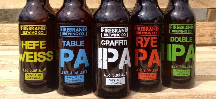 Firebrand Brewing Co bottles http://firebrandbar.co.uk/?p=2509
