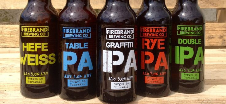 Firebrand Brewing Co bottles http://firebrandbar.co.uk/?p=2509