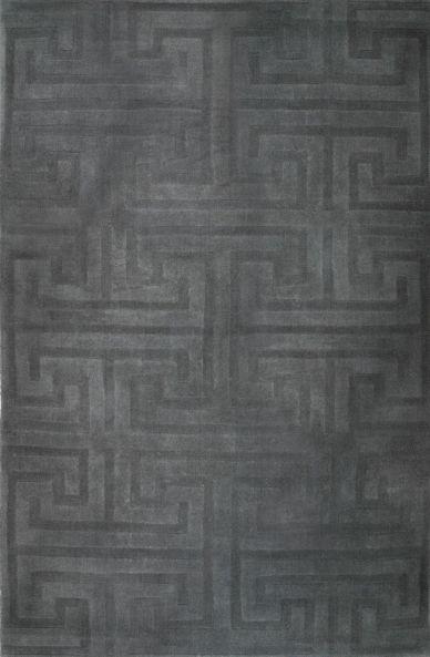 Adlink- Budgetkap - Velvet budget rug in smooth grey