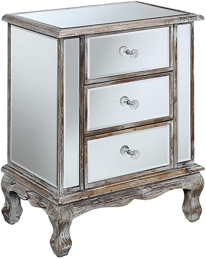 Mirrored End Table Furniture, Mirrored Furniture Gold Coast