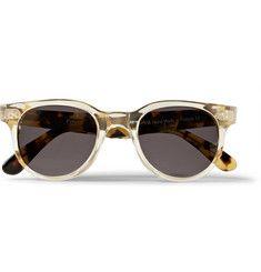 Illesteva - Franklin Round-Frame Acetate Sunglasses|MR PORTER