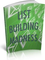 This title is full of great tips for anyone who is looking to build their own list. The subjects covered inside will be of great benefit to old hands and newbies alike. - Download for FREE!: http://freebookoftheday.com/1e.php?li=fbotd-onlinebiz&b=listbuildingmad&p=615