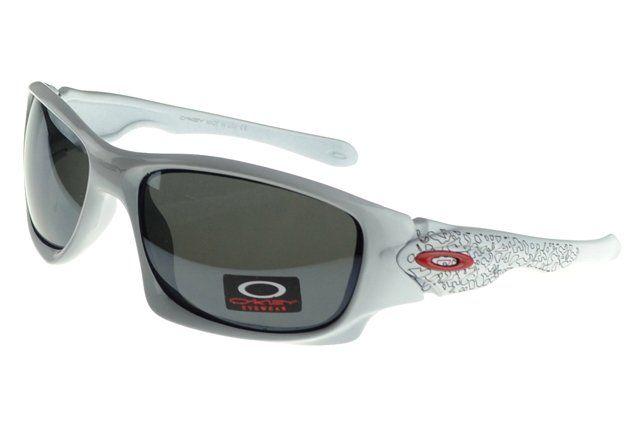 Buy Cheap Oakley Asian Fit Sunglasses White Frame Gray Lens#Oakley Sunglasses