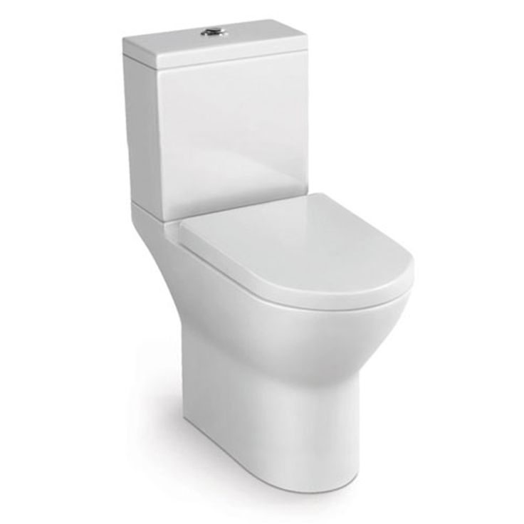 DIMENSIONS H 775, W 385, D 660  MODEL QWELO – Close Coupled (CC) Toilet Suite  CODE QW773866  LITRES 4.5/3L  FEATURES Soft close seat Enclosed rim (boxed rim) Bottom Inlet inst…