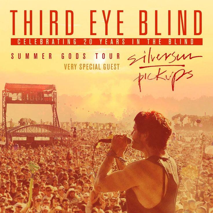 "Third Eye Blind Celebrates 20th Anniversary with ""Summer Gods Tour""   Digital Tour Bus"
