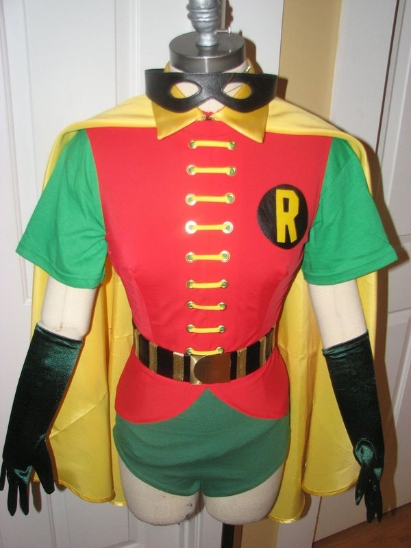 1966 Tv Batman And Robin Costumes Adult