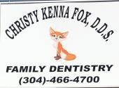"Christy ""Kenna"" Fox, DDS- 	  	Come and see us at out new office with all new technology. Dr. Fox has over 18 years experience as a general dentist with an amazing staff that will make you feel at east. Let us take care of your dental needs such as fillings, crowns, dentures, bridges, root canals, implants, extractions, cleaning and cosmetic dentistry. Most insurance accepted and Medicaid for children. New patients welcome. [Businesses - Dental > Crowns > Dentists > Whitening] Hinton, WV"