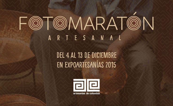 Prepárate para nuestra #Fotomaratón en Expoartesanías del 4 al 13 de diciembre.