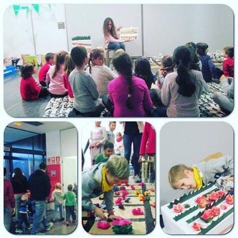 "#PetitsLlibres #laboratori de #lectura ""El Jardí curiós"" #infantil #book #libro"