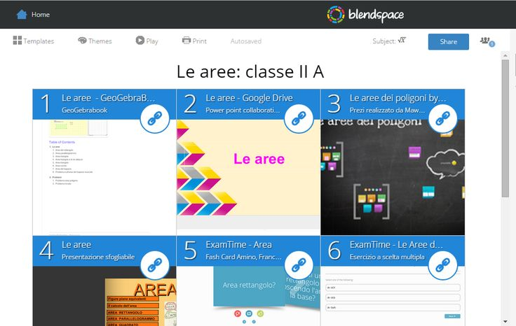 Le aree: https://www.blendspace.com/lessons/rvt_f6HLpb6mMQ/le-aree-classe-ii-a