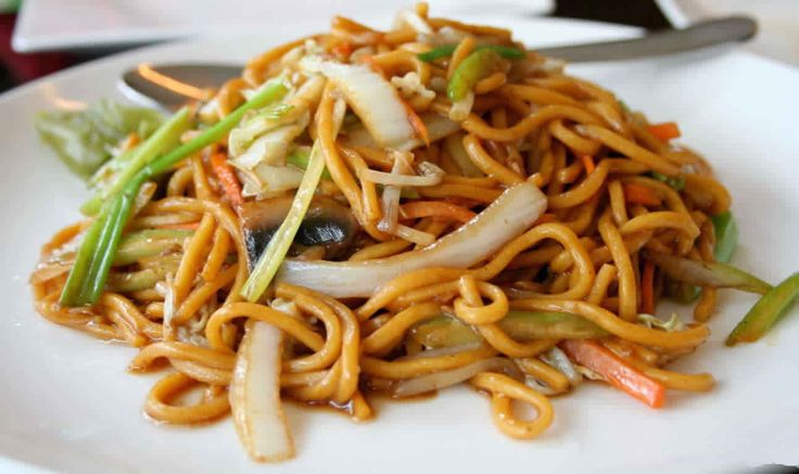 """Surinamese Chow Mein with Mixed Meat Recipe"" ""Chinese Recipes in Suriname"""