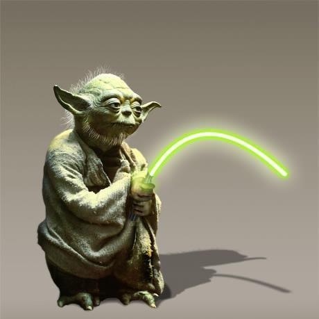 Yoda is older and older ;-)) #yoda #starwars