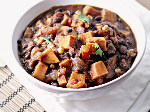 Sweet Potato Black Bean Chili...Eat.Live.Be.