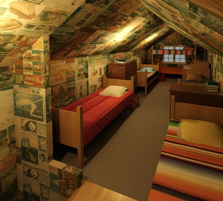 Low ceiling attic bedroom ideas for teenage girls hd for Attic bedroom decoration
