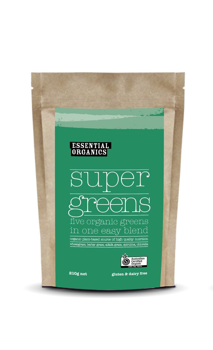 NEW! EO Super greens powder! A wholefood blend of greens free from additives and sweeteners!